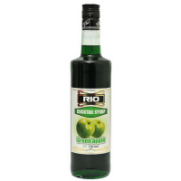 Коктейлен сироп Rio - Зелена ябълка